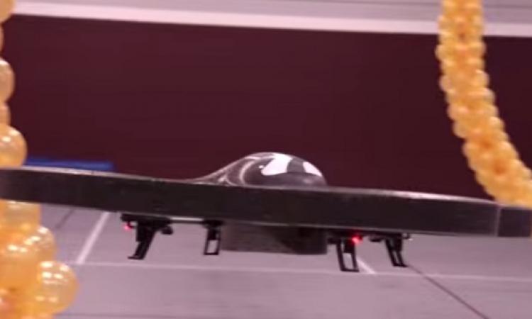 بالفيديو .. ابتكار روبوت طائر يوجه بقوة الفكر .. ميفرقوش عننا كتير !!