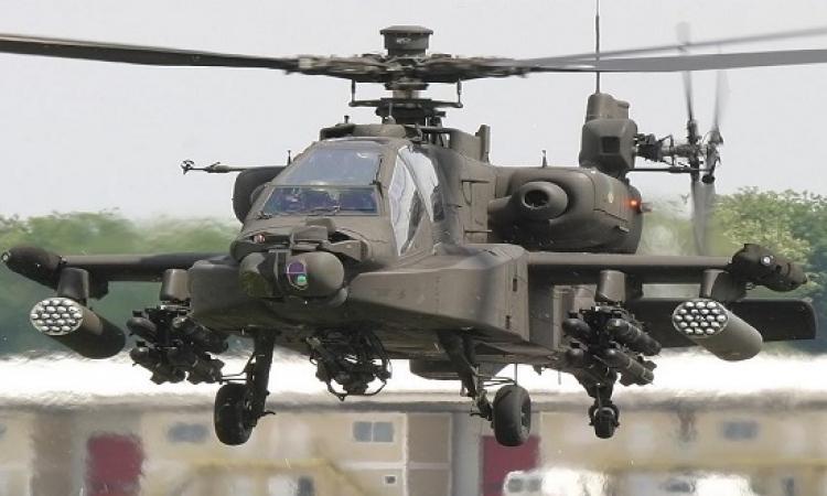 مقتل21 عنصرا من أنصار بيت المقدس بقصف جوى للجيش فى سيناء