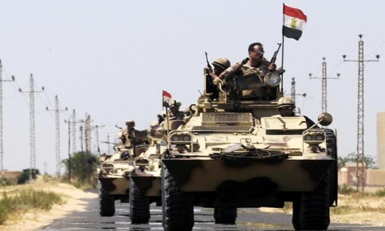 إصابة تكفيريين وضبط 10 اخرين فى حملة أمنية بشمال سيناء