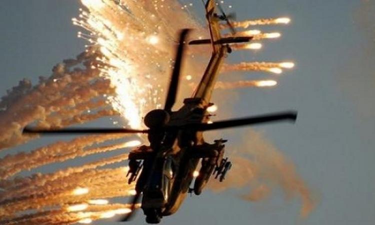 مصرع 8 عناصرارهابية واصابة 15 من تنظيم بيت المقدس فى غارات جوية بسيناء