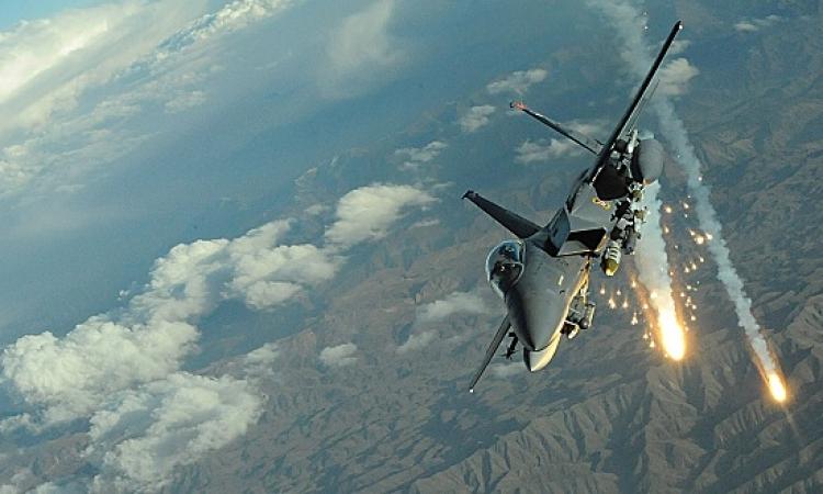 بالفيديو .. الجيش المصرى يعلن توجيه ضربات جوية لمواقع داعش فى ليبيا