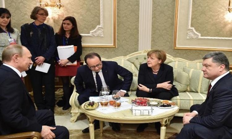 بالفيديو .. بوتين يكشف تفاصيل اتفاق تسوية الأزمة الأوكرانية