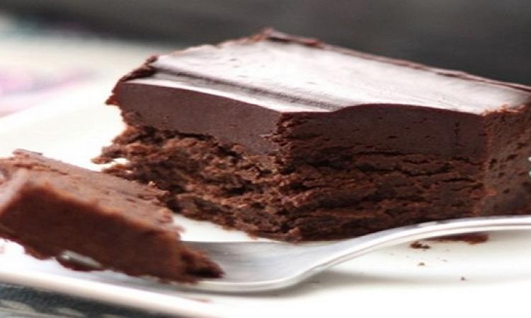 حلو اليوم .. كيكة الشوكولاتة الباردة
