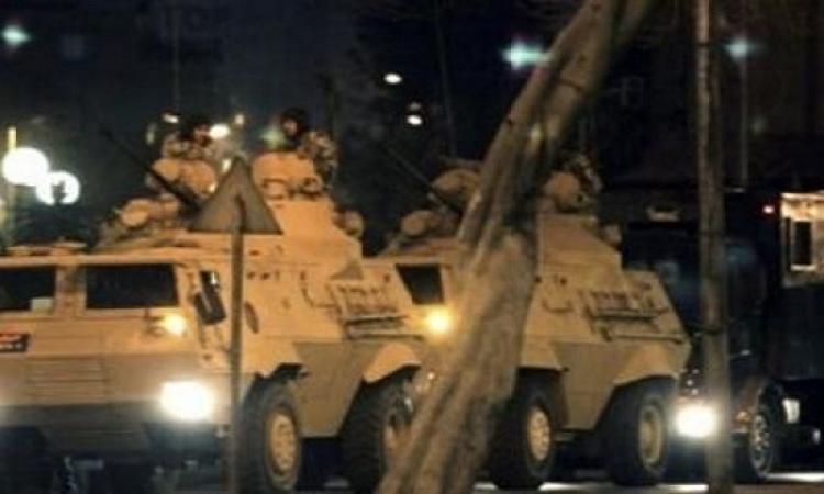 5 مدرعات و10 مجموعات قتالية لانهاء صراع البلابيش بسوهاج