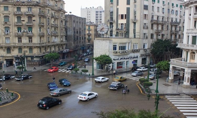 بدء تطبيق قرار حظر انتظار السيارات بشارعى قصر النيل وطلعت حرب
