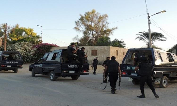 استشهاد شرطيين وإصابة 5 فى هجوم على كمين العجيزى بالمنوفية