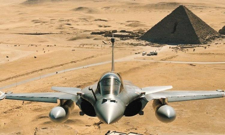 مصر تتسلم 3 مقاتلات رافال جديدة من فرنسا