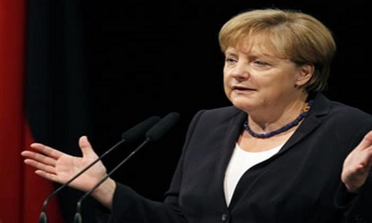 ميركل تتمسك بلقاء السيسى بعد تصريحات رئيس البرلمان الألمانى