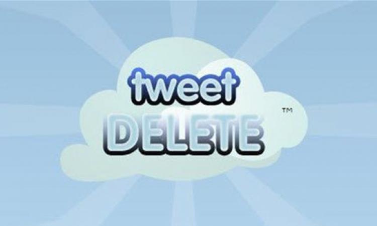 Tweet Delete نضف أرشيفك على تويتر