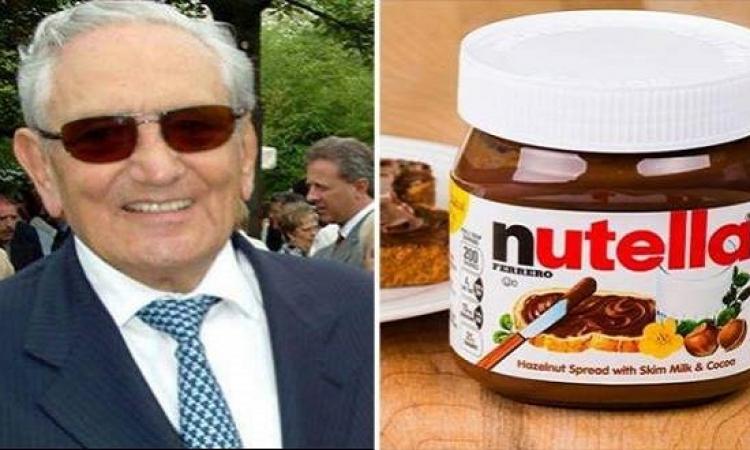 """رحيل أغنى بائع حلوى فى العالم .. وفاة إمبراطور""""نوتيلا"""" ميشيل فيريرو"""