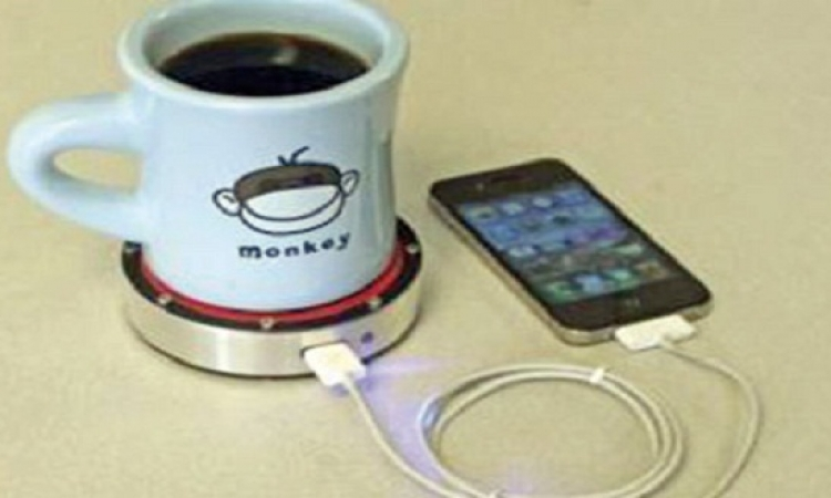 اشحن هاتفك من مشروبك الساخن
