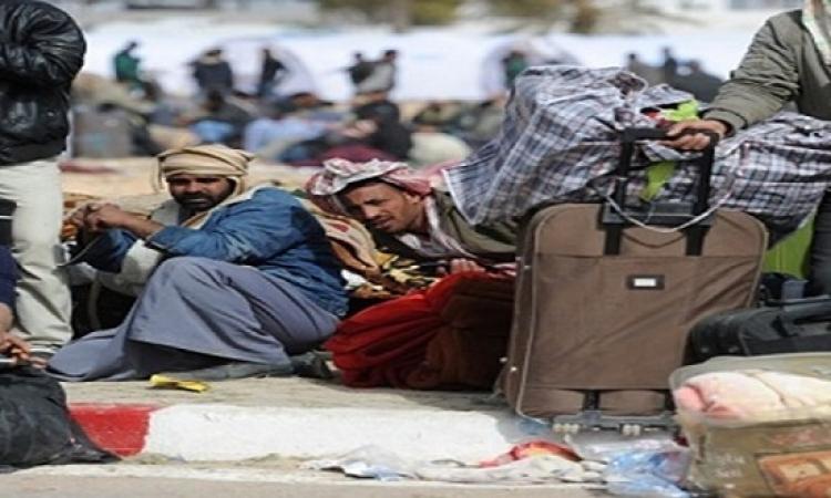 مطار القاهرة يستقبل 262 مصرياً عائدين من ليبيا