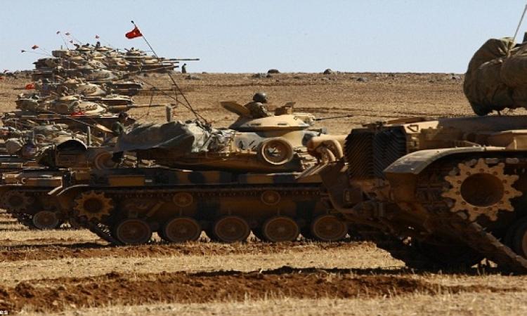 تعزيزات عسكرية تركية على الحدود مع سوريا