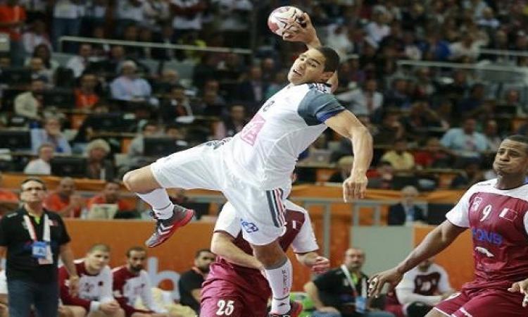 المنتخب الفرنسى يهزم قطر ويتوج بطلاً لمونديال اليد للمرة الخامسة
