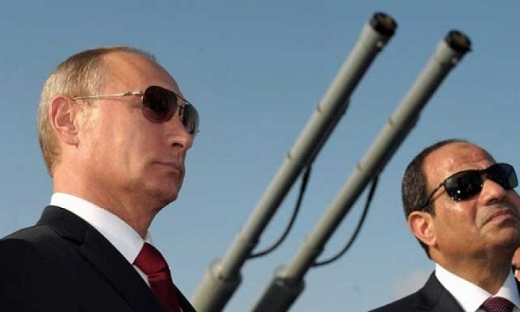 فلاديمير بوتين يزور القاهرة الإثنين المقبل