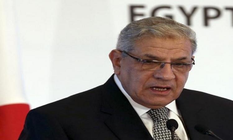 محلب يصل الأردن لرئاسة وفد مصر فى اجتماعات اللجنة العليا المشتركة