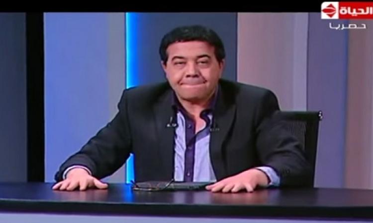 بالفيديو .. أحمد آدم يٌقلد توفيق عكاشة : مصر ضاعت يا بهاااااااااااااااااااايم !!