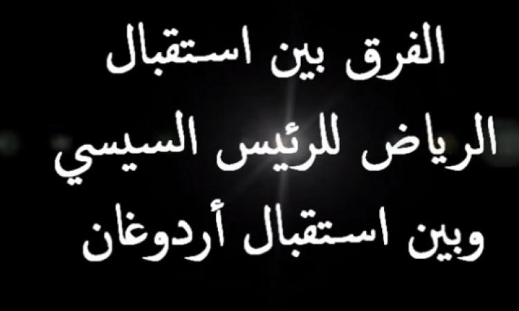 بالفيديو .. بعد مقارنته استقبال الرياض للسيسى باستقباله .. اردوغان : أنا مش هافية !!
