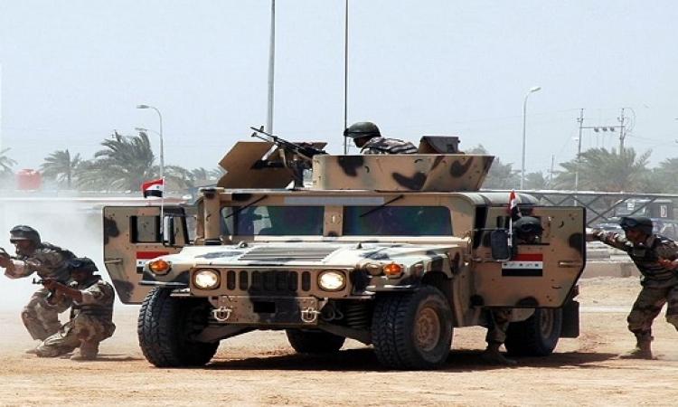 الجيش العراقى يبدأ معركته العسكرية على داعش شمالى بغداد