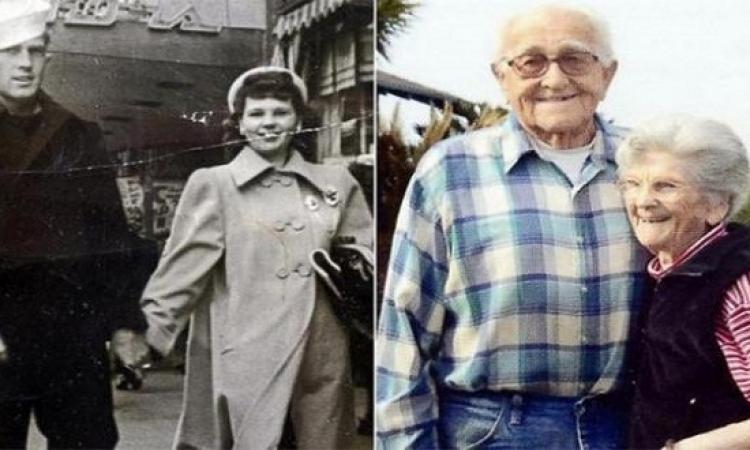 حتى الموت مفرقهمش بعد 67 سنة جواز.. ماتوا وهما مسكين أيد بعض بفارق خمس ساعات