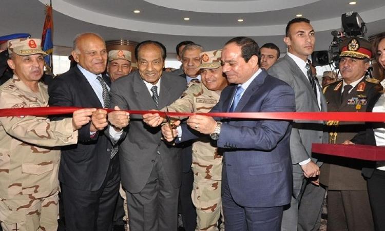 السيسى يفتتح اليوم 21 مشروعا للقوات المسلحة ومسجد المشير طنطاوى