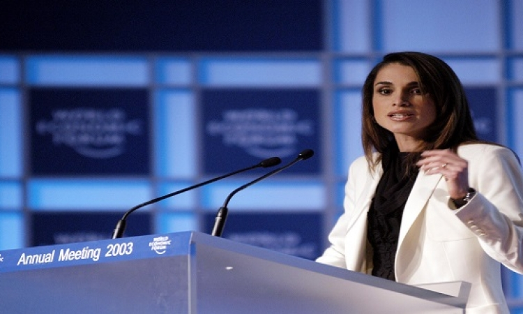 الملكة رانيا داعش لا ضمير له وعلينا مواجهته من خلال مواقع التواصل