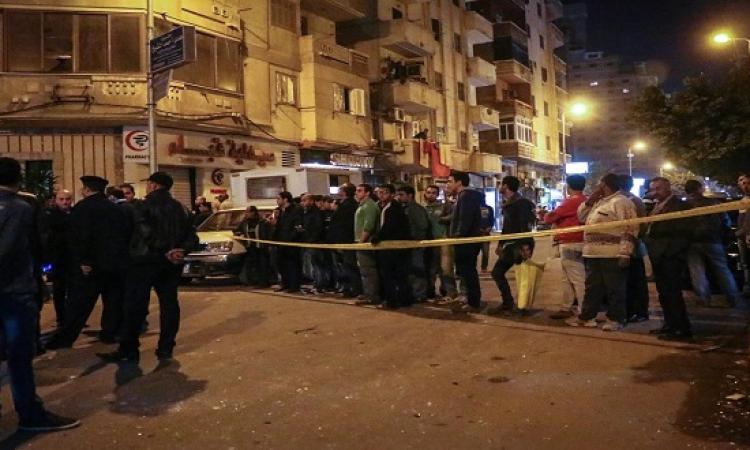 انفجار بجوار قسم شرطة النزهة بمصر الجديدة