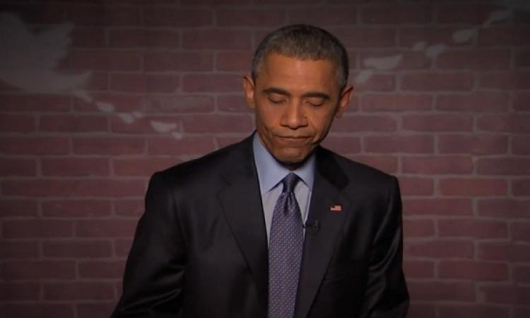 بالفيديو .. طفل يقاطع أوباما أثناء تحدثه .. لماذا؟!