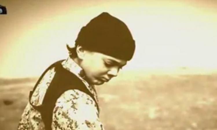 بالفيديو .. فيلم جديد لداعش .. إعدام عميل الموساد على يد أحد الأشبال ( + 18 )