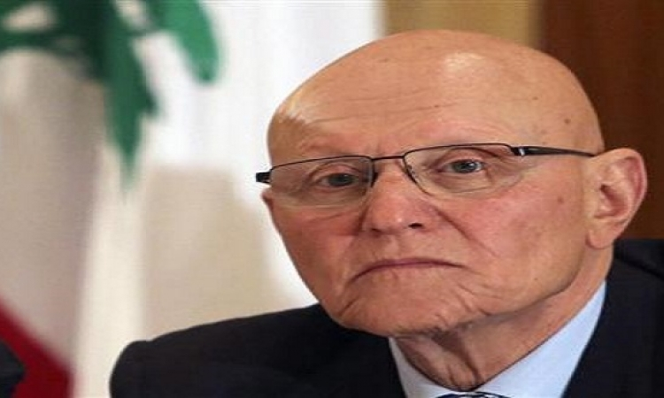 رئيس وزراء لبنان : الحكومة اللبنانية تقف بكل قوة بجانب الحكومة المصرية