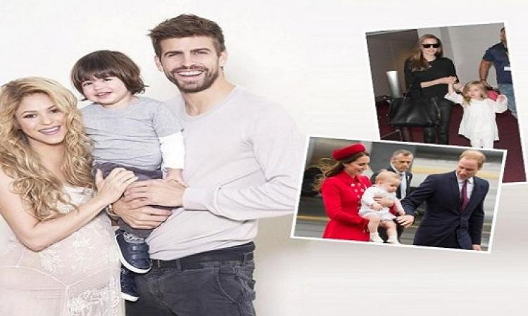 بالصور…بمناسبة أسبوع الطفل تعرفوا على أطفال المشاهير