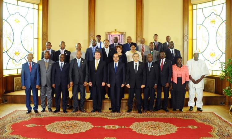 السيسى يؤكد على أحقية دول أفريقيا في النمو وتحقيق طموحات شعوبها