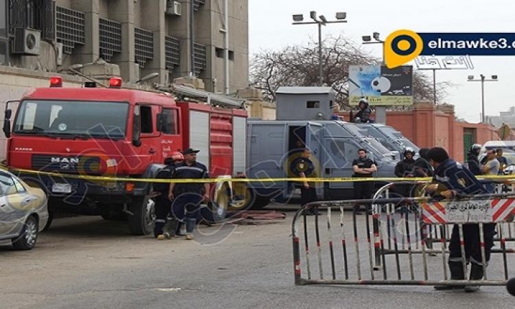 8 مصابين فى انفجار مترو جامعة القاهرة