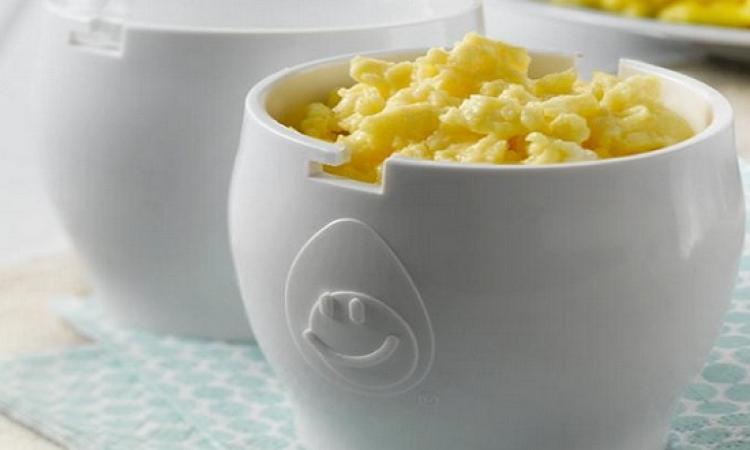 بالفيديو .. 3 طرق لعمل البيض فى المايكروويف