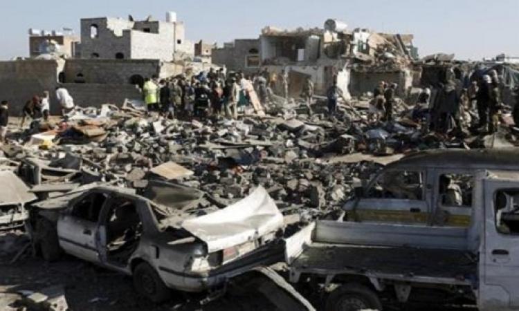 الحوثيون يعترفون بسقوط 13 قتيلا و إصابة 69 فى قصف للتحالف مساء اليوم