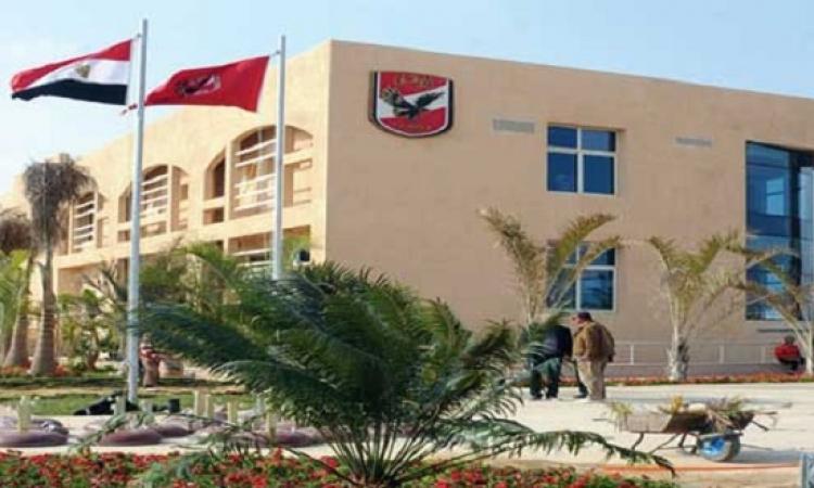 محلب يفتتح الفرع الثالث للنادى الأهلى بمدينة الشيخ زايد