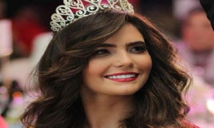 بالصور…ملكة جمال مصر تستعرض جمالها ورشاقتها وتتفاخر بخصرها النحيف