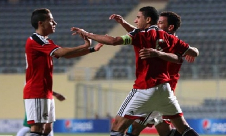 منتخب مصر الأوليمبى يفوز على كينيا بثلاثية نظيفة