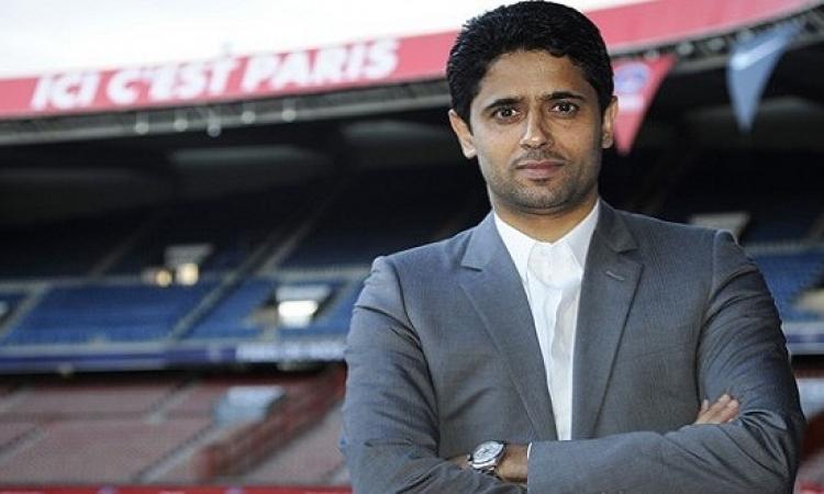 ناصر الخليفى يتوعد برشلونة فى دورى الأبطال
