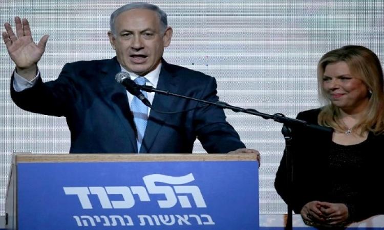 نتانياهو يعلن فوزه فى الانتخابات رغم حصوله على 24% فقط من الأصوات
