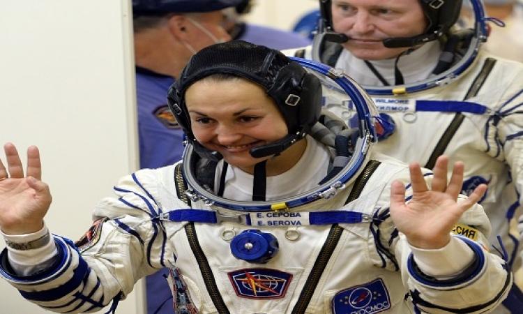 عودة أول روسية تهبط على متن محطة الفضاء الدولية