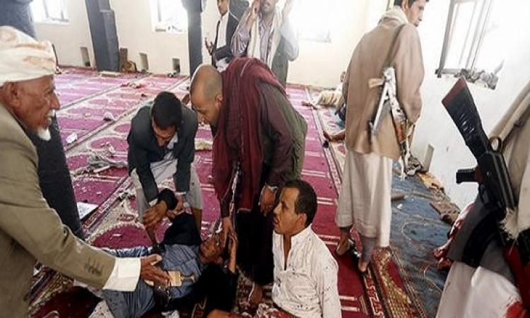 انفجارين بمسجدين يرتادهما حوثيون فى صنعاء
