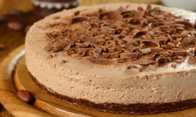 طريقة عمل التشيز كيك بالشوكولاتة