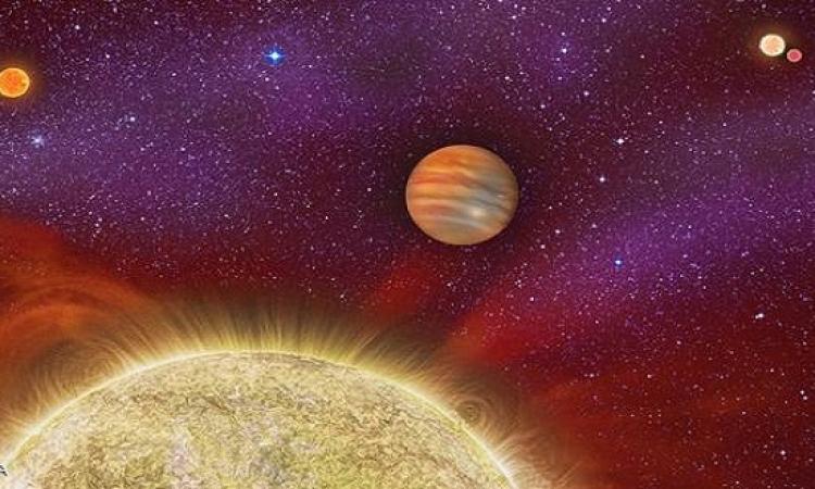 اكتشاف كوكب غازى عملاق تحيط به 4 شموس