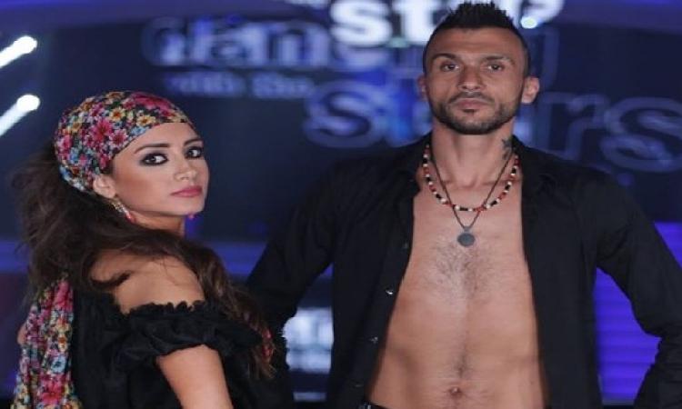 بالصور .. ابراهيم سعيد يتألق فى برنامج الرقص مع النجوم