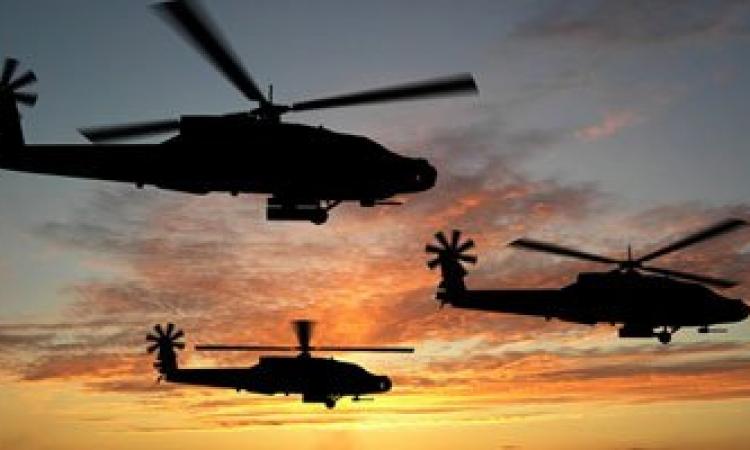 قصف جوى لـ6 معاقل للإرهابيين فى شمال سيناء