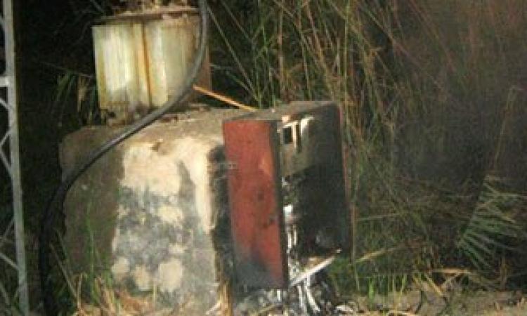 انفجار محول كهرباء بمحيط مركز شرطة كفر صقر فى الشرقية