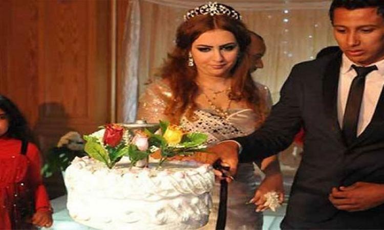 بالصور .. حفل زفاف عمرو جمال نجم النادى الاهلى