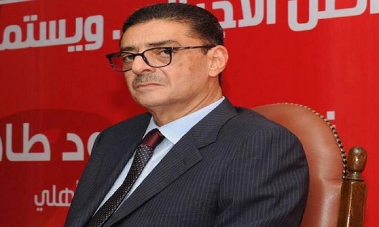 محمود طاهر: حسام غالى أهان النادى .. ونسعى لبناء فريق قوى
