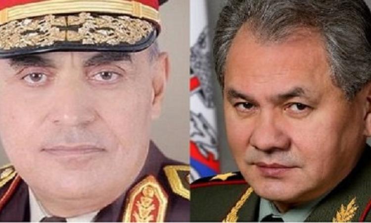 روسيا تشيد بالتعاون العسكرى مع مصر